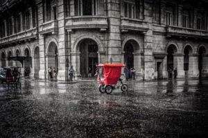Cuba, Havanna, Red Bici Taxi,