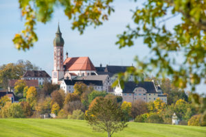 Abbey of Andechs in Bavaria