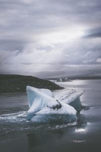 Jökulsarlon - glacier lagoon in Iceland