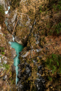 The ghost gorge or also Leutaschklamm with Mittenwald