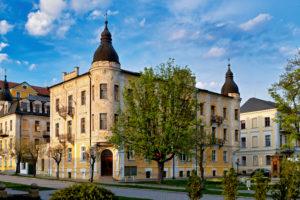 Tschechien, Böhmen, Franzensbad (Františkovy Lázně)