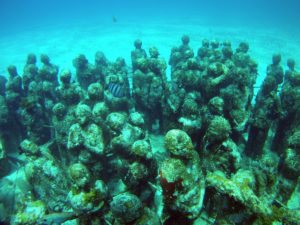 Underwater Museum of Art in Cancun, MUSA