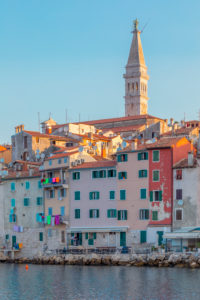 Rovinj - Rovigno, the seaside old town, Istria, Adriatic coast, Croatia