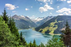 Durlaßboden Stausee, Gerlos, Zillertal Arena, Schwaz, Tyrol, Austria, Europe