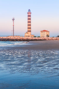 Jesolo, lighthouse beach, adriatic sea, venice, veneto, italy