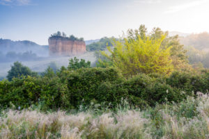 the territory around the Balze in valdarno, Terranuova Bracciolini, Arezzo, Tuscany, Italy