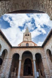 Euphrasian Basilica, UNESCO World Heritage site, Porec, Istria, Adriatic coast, Croatia, Europe