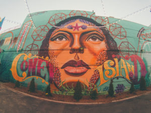 street art of coney island