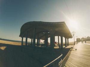 shore of coney island beach
