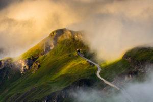 Austria, National Park Hohe Tauern, Salzburger Land, Grossglockner High Alpine Road, View from Edelweissspitze, Summer Austria