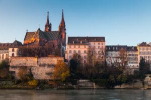 Europe, Switzerland, Basel, historic city centre