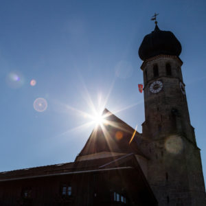 Europe, Germany, Bavaria, Warngau, church