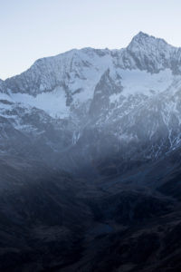 Europe, Austria/Italy, Alps, South Tyrol, Mountains. View from Passo Rombo / Timmelsjoch