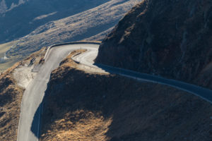 Europe, Austria/Italy, Alps, South Tyrol, Mountains - Passo Rombo - Timmelsjoch - High Alpine Road