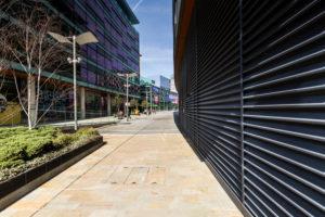Europe, England, United Kingdom, Manchester - Media City Centre - The BBC Centre and Media City at Salford Quays