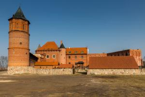 Europe, Poland, Podlaskie Voivodeship, Tykocin - Reconstructed castle in Tykocin