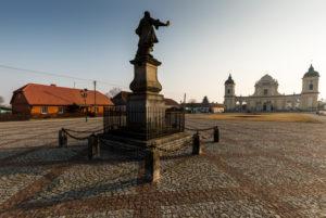 Europe, Poland, Podlaskie Voivodeship, Tykocin - Stefan Czarniecki monument