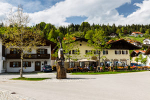 Germany, Bavaria, Mittenwald, 'Im Gries' district, restaurant