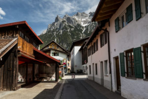 Germany, Bavaria, Mittenwald, Karwendel mountains