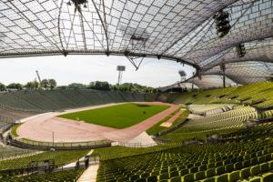 Europe, Germany, Bavaria, Munich, Olympiastadion