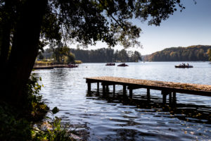 Europe, Poland, Lubusz Voivodeship, Lagow / Łagów - lake