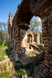 Europe, Poland, Lower Silesia, Milicz / Militsch - Ruins of Milicz Castle