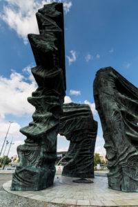 Europa, Polen, Woiwodschaft Schlesien, Katowice - Denkmal der Schlesischen Aufständischen, Pomnik Powstancow Slaskich