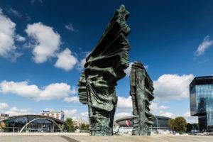 Europe, Poland, Silesian Voivodeship, Katowice - Silesian Insurgents' Monument, Pomnik Powstancow Slaskich