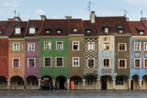 Europe, Poland, Greater Poland, Poznan / Posen - old town