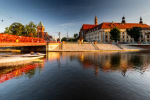 Europe, Poland, Lower Silesia, Wroclaw - Most Piaskowy / Sandbrücke Breslau / Piaskowy bridge