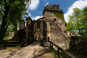 Europe, Poland, Lower Silesia, Grodziec castle / Gröditzburg
