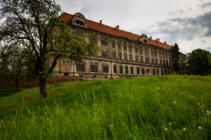 Europe, Poland, Lower Silesia, Lubiaz Abbey / Kloster Leubus