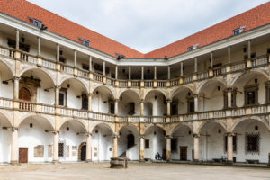 Europe, Poland, Opole Voivodeship, Brzeg / Brieg - castle