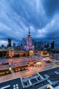 Europa, Poland, Voivodeship Masovian, Warsaw - the capital and largest city of Poland - Palace of Culture and Science