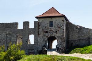 Europe, Poland, Lesser Poland Voivodeship, Zamek Rabsztyn / Rabsztyn castle / Rabenstein