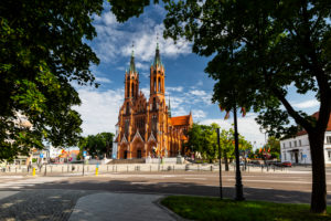 Europe, Poland, Podlaskie Voivodeship, Bialystok - Cathedral Basilica of the Assumption of the Blessed Virgin Mary
