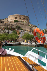 Boat trip from Spinalonga to Elounda, Greece, Crete, Kalydon