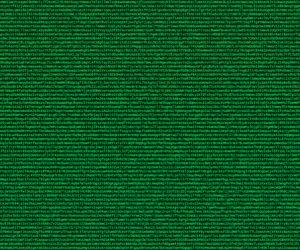 Cryptocode, Zufällig generierter Buchstaben- und Zahlencode in grünen Lettern auf dunkelgrünem Hintergrund stilistisch wie ein Computerbildschirm