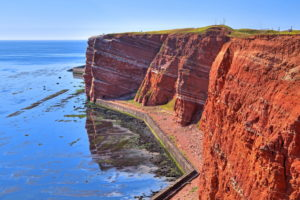 Western cliff, Heligoland, Heligoland bay, German Bight, North Sea island, North Sea, Schleswig-Holstein, Germany