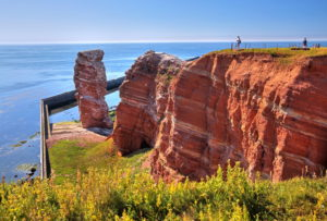 Northwest cliff with surf rocks Lange Anna, Heligoland, Heligoland Bay, German Bight, North Sea Island, North Sea, Schleswig-Holstein, Germany