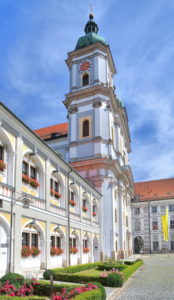 Monastery church, collegiate basilica, Waldsassen, Upper Palatinate, Bavaria, Germany