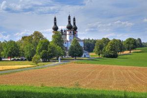 Trinity Church Kappl, Waldsassen, Upper Palatinate, Bavaria, Germany