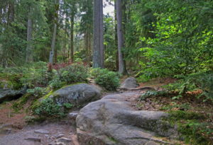 Luisenburg rock labyrinth, Wunsiedel, Fichtelgebirge, Upper Franconia, Franconia, Bavaria, Germany