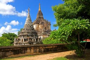 Gawdaw Palin Pagode in der ' Ebene der 2000 Pagoden ', historische Königsstadt Bagan, Myanmar