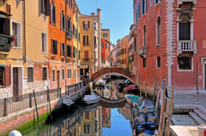 Old Town Canal, Venice, Veneto, Italy, UNESCO World Heritage Site