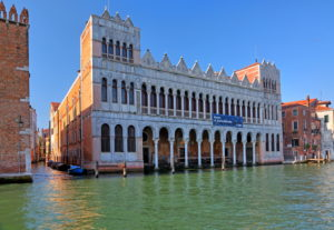 Palazzo Fontego dei Turchi with Natural History Museum on the Grand Canal, Venice, Veneto, Italy, UNESCO World Heritage Site