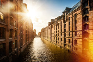 Hamburg warehouse district, Unesco World Heritage Site, Hamburg, Germany