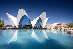 LñíOceanogr‡fic, Europas grˆfltes Ozeaneum in Valencia, Spanien