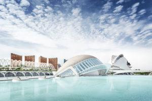 L'Hemisfèric, 3D cinema, Ciudad de las Artes y de las Ciencias, Valencia, Spain