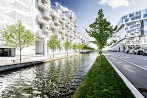Modern Architecture, ÿrestad, Copenhagen, Denmark